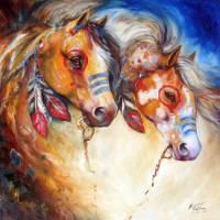 WARRIORS TWO by Marcia Baldwin