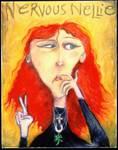 Nervous Nellie by Ann Huey