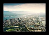 Vancouver - Aerial (Bordered)
