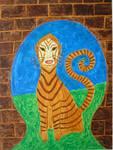 Dulcinea the Cat Gnome by Carol Swing