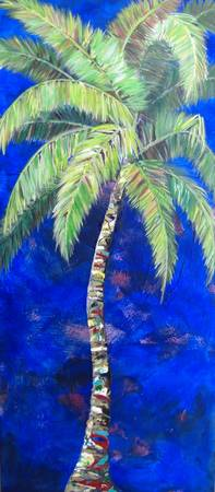 Anne's Blue Palm