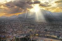 Grenoble Evening HDR