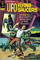 UFO Flying Saucers Magazine Cover #4