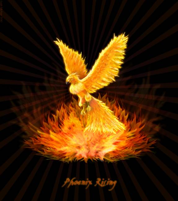 Phoenix Rising by Leah McNeir