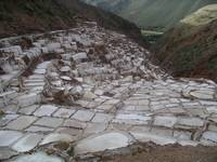 Salt Flats in Sacred Valley Peru