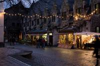 December night at Gand, Belgium