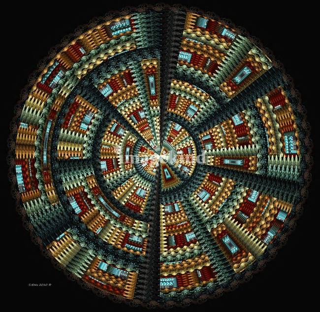 U201cNative American Basket ~ Abstractu201d By Inkandbrushcreations, 2010
