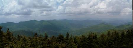 Mt Mitchell-Top of the East