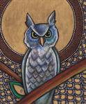 Icon VI: The Owl