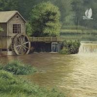 Hyde Mill by Roger Dullinger