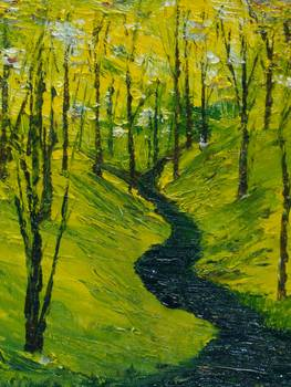 two roads diverged in a yellow wood by conor murphy