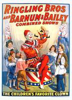Ringling Bros and Barnum & Bailey Circus Poster