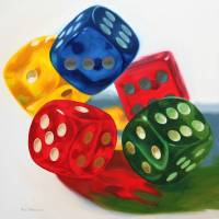 Falling Dice by Roger Dullinger