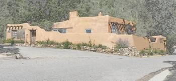 Adobe on Canyon Road