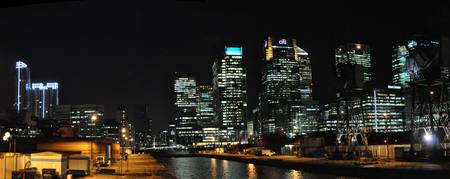 Docklands Night view