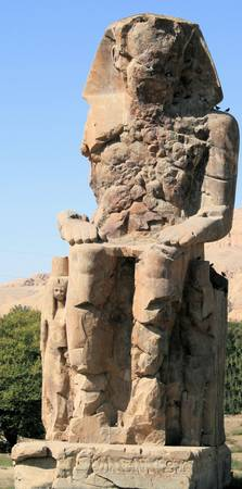 Colossi of Memnon statute