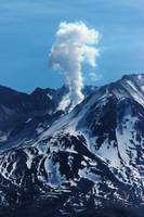 Mt St Helens Steam Eruption