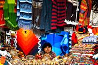 Woman at the Otavalo Market - Ecuador