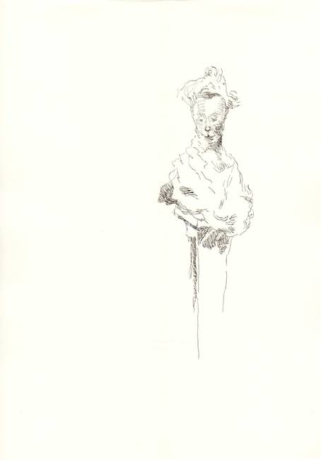 Drawing at Rodin expo 11