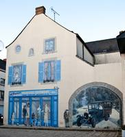 Painted House, Evron, Mayenne