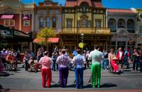 Dapper Dans on Main Street USA