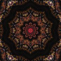 Indian Corn Kaleidoscope Art 2