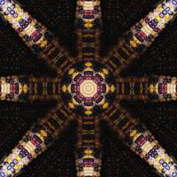 Indian Corn Kaleidoscope Art 3