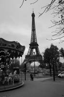 Eiffel tower w/ Carousel - Paris