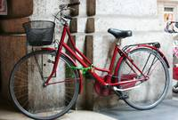 Red bike in Florence