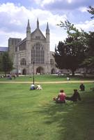 Winchester Cathedral 4 by Priscilla Turner
