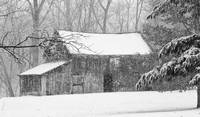 _MG_7256 - Barn in Winter Snowstorm - 2010