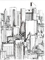 Midtown Manhattan by RD Riccoboni