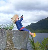 Sindy at Loch Lomond