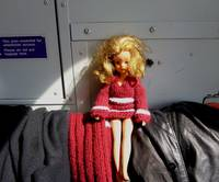 Jambo Sindy on the train