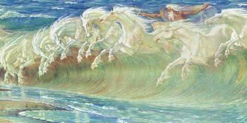 Poseidon S Horses By Grant Devereaux