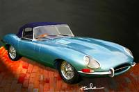 1972 ,Jaguar, E type, XKE