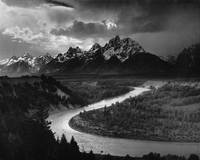 Tetons by Ansel Adams, 1942