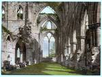 Abbey interior, looking E., Tintern, England