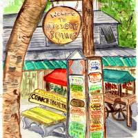 Mallory Square Art Prints & Posters by Arlene Wright-Correll