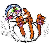 Mac Spinning - Get Fuzzy by Art by Comics.com