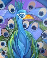 The Peacock by Kristen Stein