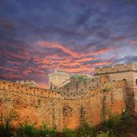 Great Wall Of China Art Prints & Posters by Andrea Colantoni