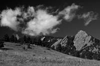 Flatirons Black & White