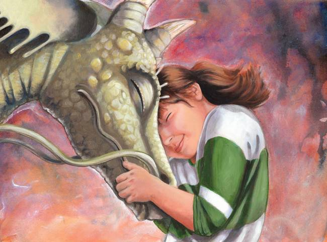 Chihiro And Haku From Spirited Away By Penny Weber