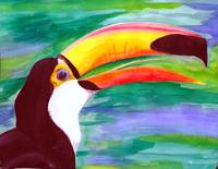 Toucan Watercolor