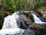 Spring Upper Peninsula Waterfall