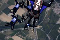 Four-Way Team Skydive