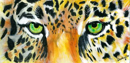 Jaguar Eyes by Emily Dewbre-Young