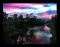 God's Morning over Santa Ynez River