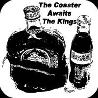 The Coaster Awaits the Kings Art Prints & Posters by Ken Collins